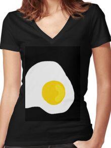 Eggcellent  Women's Fitted V-Neck T-Shirt