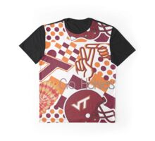 Virginia Tech Collage  Graphic T-Shirt