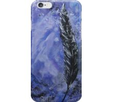 The Black Feather iPhone Case/Skin
