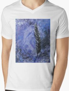 The Black Feather Mens V-Neck T-Shirt