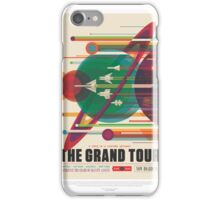 Grand Tour Space Travel Poster iPhone Case/Skin