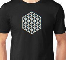 Hexatriangle Black Unisex T-Shirt