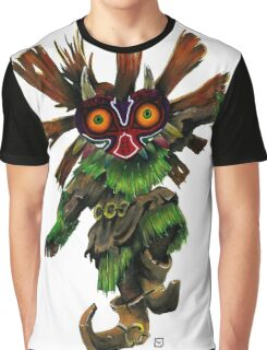 Majoras Mask Skull Kid Graphic T-Shirt