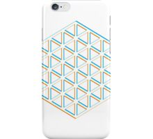 Hexatriangle White iPhone Case/Skin
