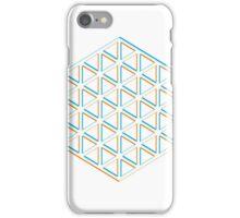 Hexatriangle White iPhone Case/Skin