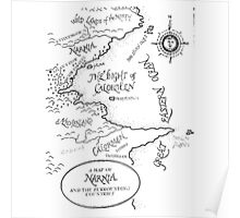 A MAP TO NARNIA Poster