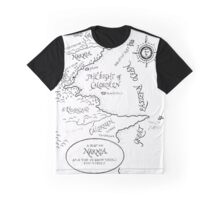 A MAP TO NARNIA Graphic T-Shirt