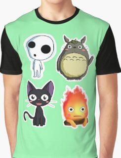 fushion ghibli Graphic T-Shirt