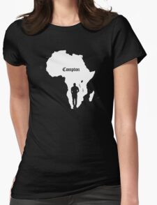 COMPTON/AFRICA Womens Fitted T-Shirt