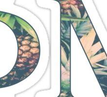 Phi Mu - Pineapple Sticker