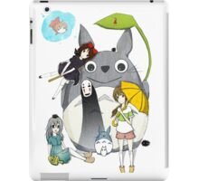 fammili collage ghibli iPad Case/Skin