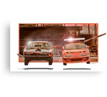 The Fast And The Furious Canvas Print