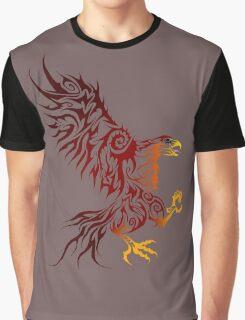 Shadey Hawk Graphic T-Shirt