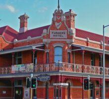 Furners Hotel, Ulverstone, Tasmania, Australia Sticker