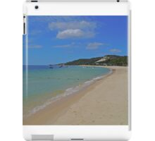 Beach, Tangalooma, Queensland, Australia iPad Case/Skin