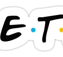 zeta friends Sticker
