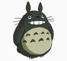 totoro coloured smile One Piece - Short Sleeve