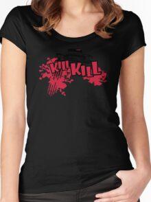Kill Fury Kill Funny Man Tshirt Women's Fitted Scoop T-Shirt