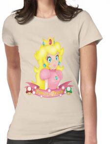 Princess Peach Womens Fitted T-Shirt