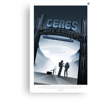 Ceres Travel Poster Canvas Print