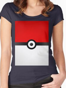 Pokeball Power! Women's Fitted Scoop T-Shirt