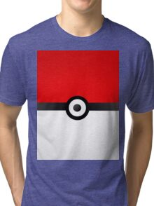 Pokeball Power! Tri-blend T-Shirt