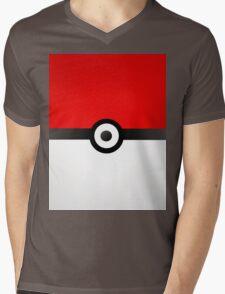 Pokeball Power! Mens V-Neck T-Shirt