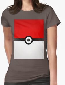 Pokeball Power! Womens Fitted T-Shirt