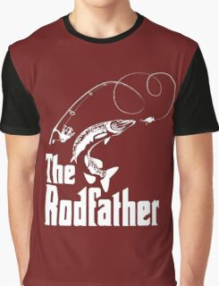 The Rodfather Fishing Graphic T-Shirt