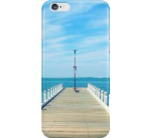 Pier at Geelong iPhone Case/Skin