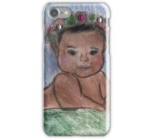 Flower Baby iPhone Case/Skin