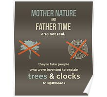 tweets by @dril - Trees & Clocks Poster