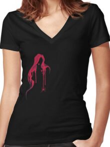 Black Widow - hoodies Women's Fitted V-Neck T-Shirt