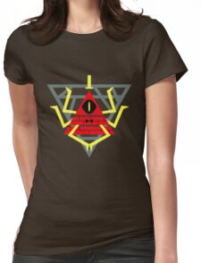 Gravity Falls - Bill Cipher Womens Fitted T-Shirt