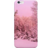 Pink Winter iPhone Case/Skin