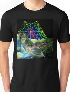 Time travel to the other lands. Unisex T-Shirt
