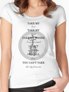 Firefly - Ballad of Serenity Women's Fitted Scoop T-Shirt