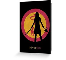 Firefly - River Tam Greeting Card
