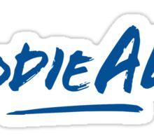 Hoodie Allen Logo (Blue) Sticker