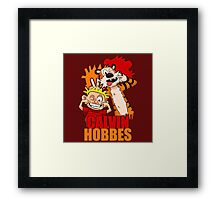 Calvin And Hobbes 2 Framed Print