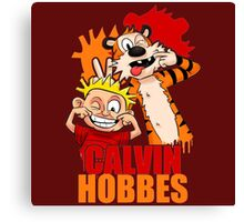 Calvin And Hobbes 2 Canvas Print