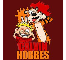 Calvin And Hobbes 2 Photographic Print