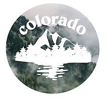 Colorado Logo Photographic Print