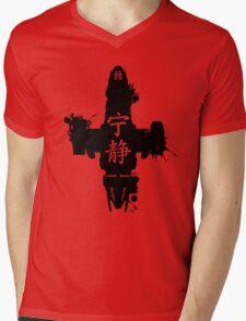Firefly Serenity Ink Blot Mens V-Neck T-Shirt