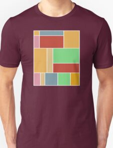Abstract #347 1960s Palette T-Shirt