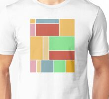 Abstract #347 1960s Palette Unisex T-Shirt