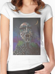Island Vision Women's Fitted Scoop T-Shirt