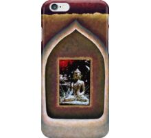 In the Temple of the Buddha iPhone Case/Skin