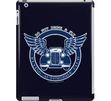 Do not drink & fly iPad Case/Skin