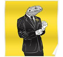 Dapper Lizard Poster